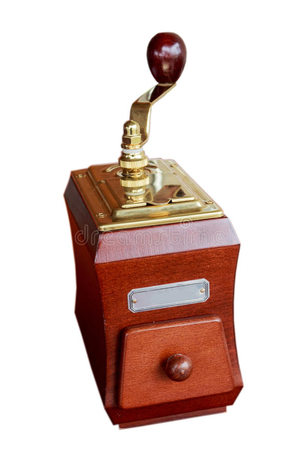 Механизм настройки радиопеленгатора с ручкой стоковое изображение
