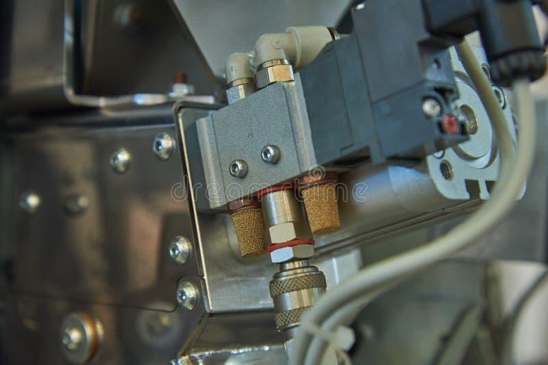 Механизм точный распределять продуктов смесителя свободных стоковые изображения rf
