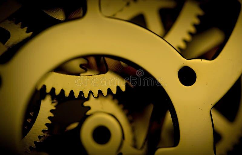 механизм часов стоковые фото