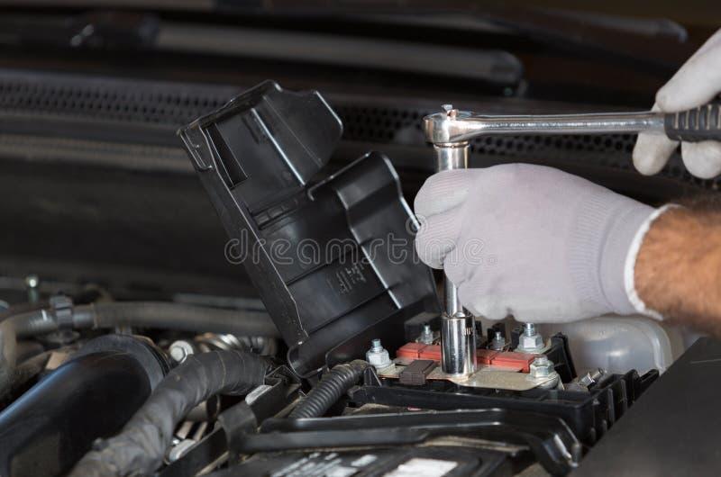 механик автомобиля стоковое изображение