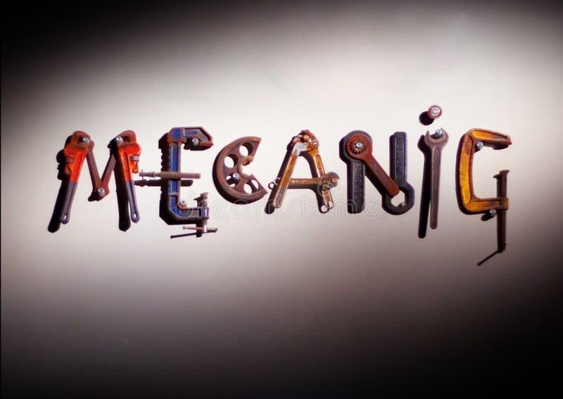механик оборудует слово стоковые изображения