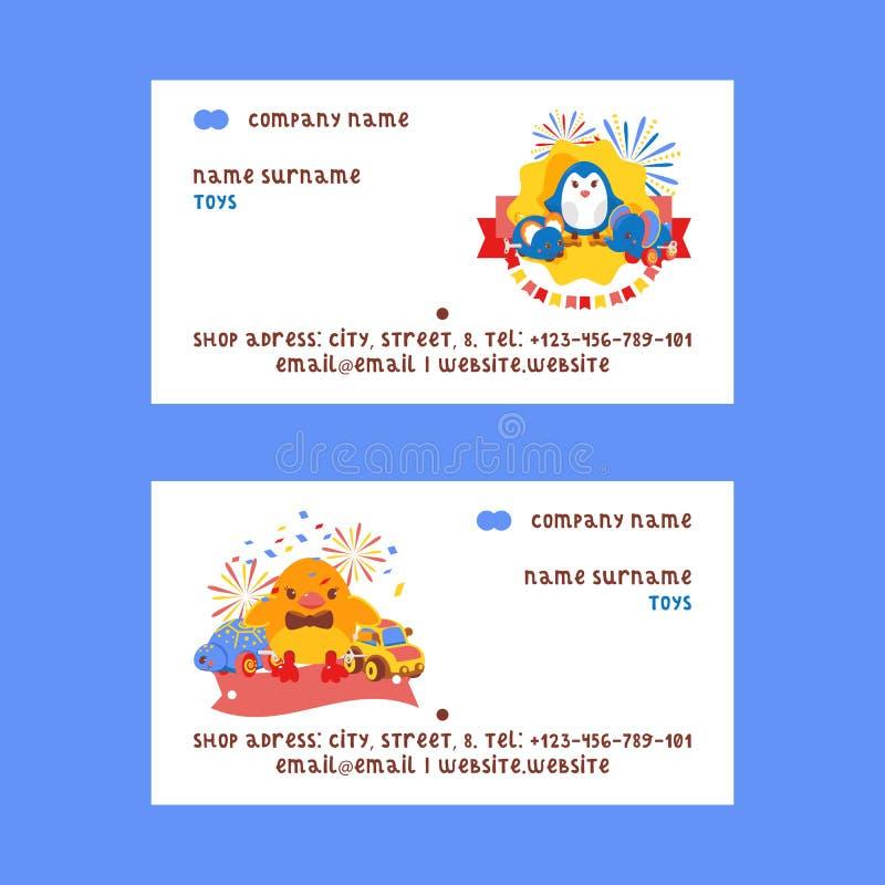 Механик Clockwork яркий дети залуживают игрушки установил иллюстрации вектора визитных карточек Подарки механически windup милые бесплатная иллюстрация