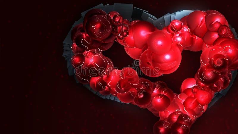 Механически сердце Дао иллюстрация штока
