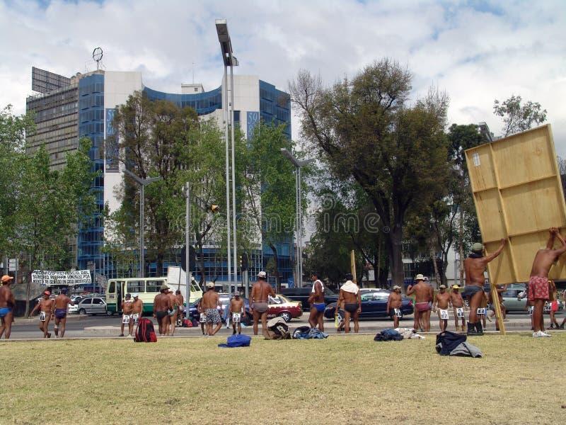 Мехико Veiw улиц стоковые изображения
