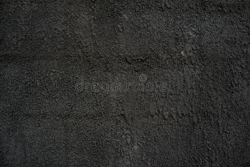 Меховая шыба цемента с песком темноты - бетоном серого цвета твердым стоковое фото