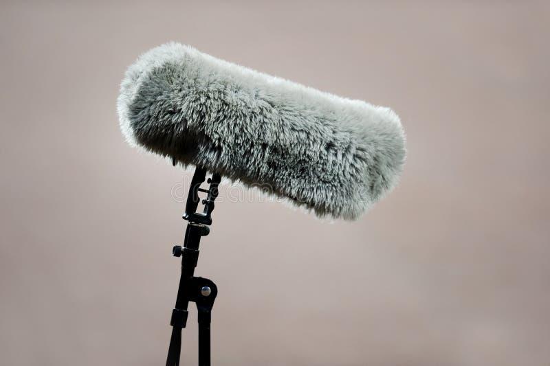 Меховой микрофон спорта стоковое фото rf