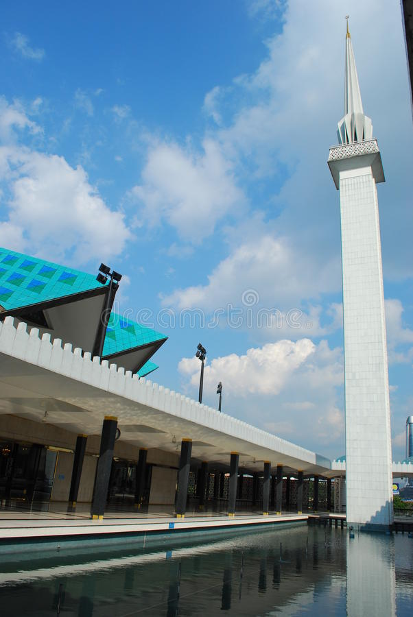 Мечети соотечественника Малайзии стоковое фото rf