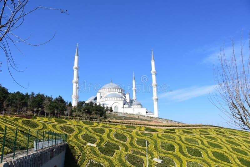 Мечеть Ä°stanbul Турция Camlica стоковая фотография