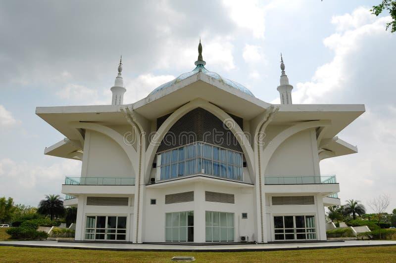 Мечеть авиапорта Ismail султана - авиапорт Senai стоковое фото rf