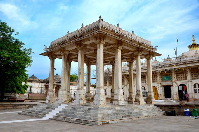 Мечеть Ахмадабад roza Sarkhej стоковые изображения rf