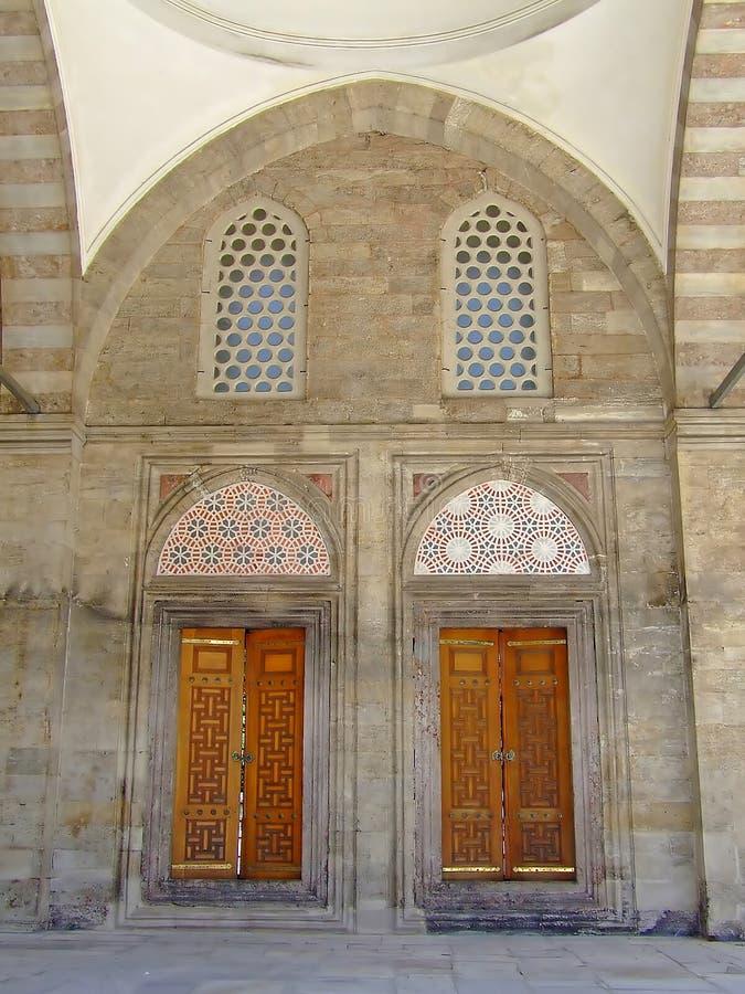 мечеть входа стоковая фотография rf