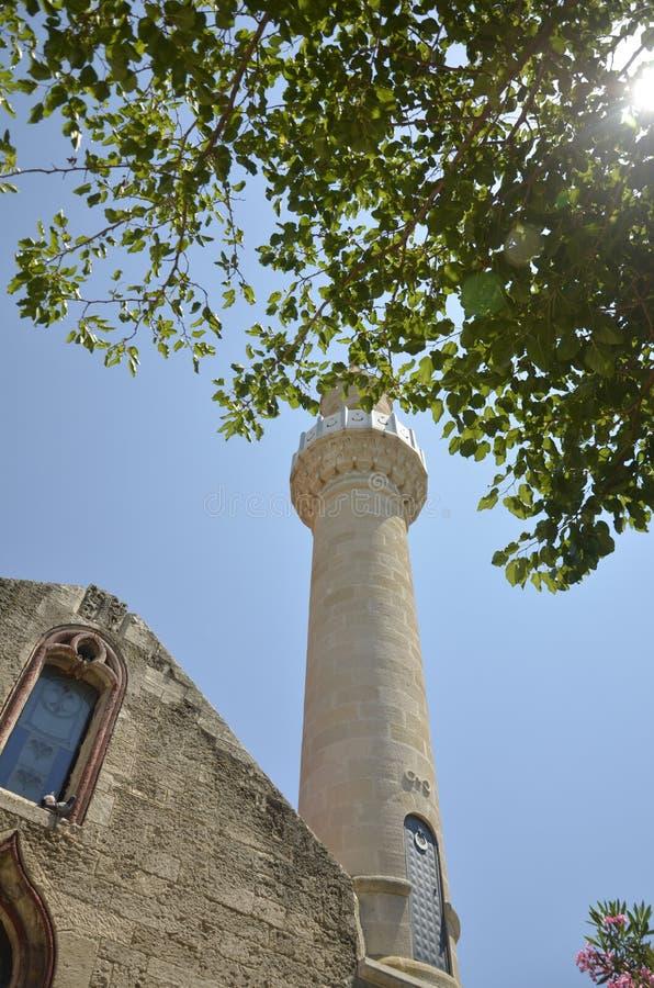 Мечеть в индюке стоковые фотографии rf