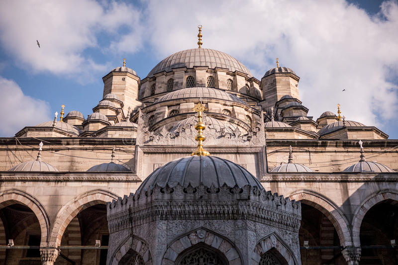 Мечеть в Стамбуле Турции стоковое изображение