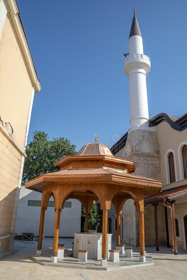 Мечеть в уловке в Болгарии стоковая фотография
