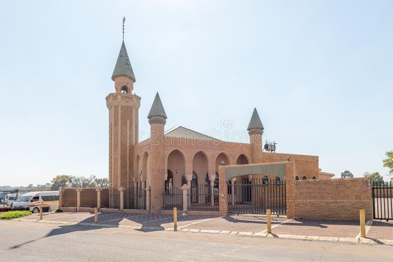 Мечеть в Bethal, в провинции Мпумалангы стоковые изображения