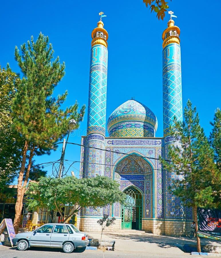 Мечеть в Rayen, Иране стоковое изображение rf