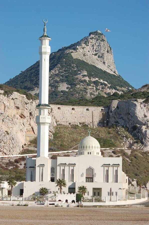 мечеть Гибралтара стоковое изображение