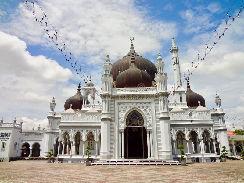 Мечеть Захира - звезда Masjid Захира Alor, Kedah Малайзия стоковые изображения rf