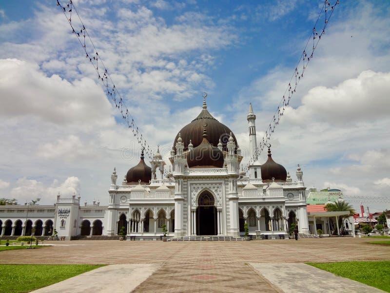 Мечеть Захира - звезда Masjid Захира Alor, Kedah Малайзия стоковые фотографии rf