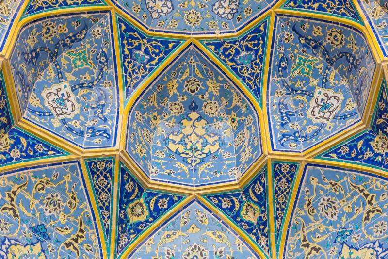 Мечеть имама (имам Masjed-e) в Isfahan, Иране стоковая фотография rf