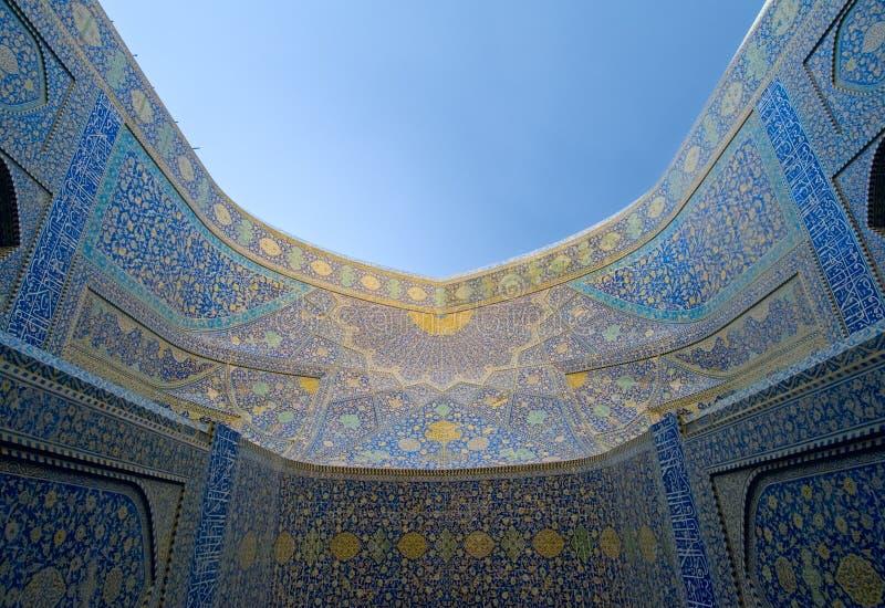 Мечеть имама, Isfahan, Иран стоковое изображение
