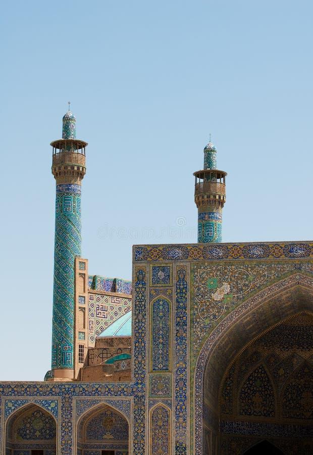 мечеть Ирана isfahan имама стоковые фотографии rf