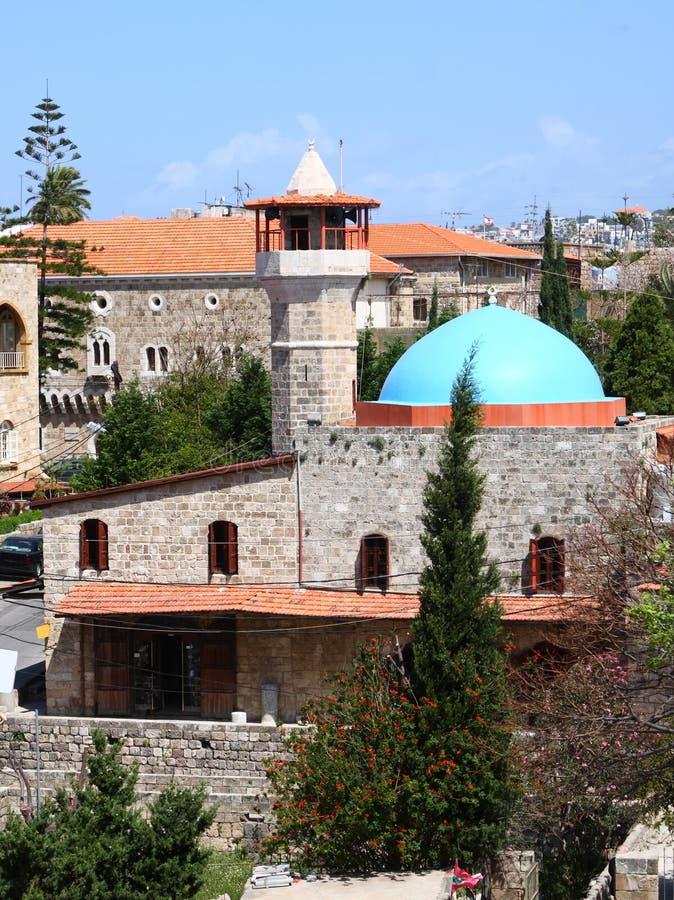 мечеть Ливана byblos стоковые изображения rf