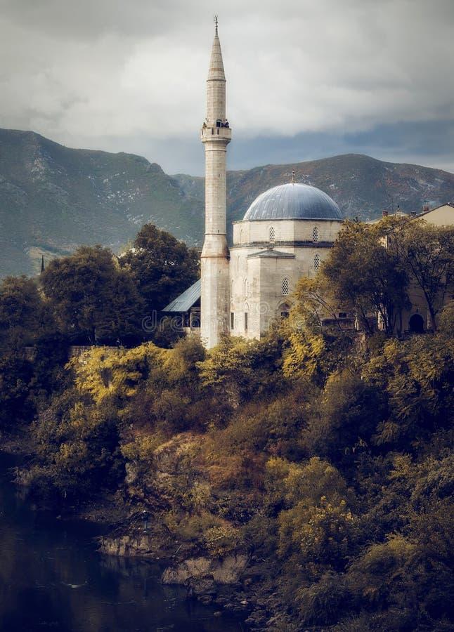 Мечеть Мостар стоковые изображения