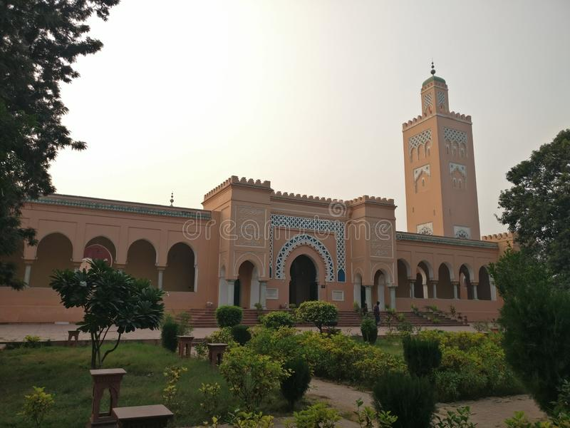 Мечеть Муриш, Капуртала , ИНДИЯ стоковые изображения rf