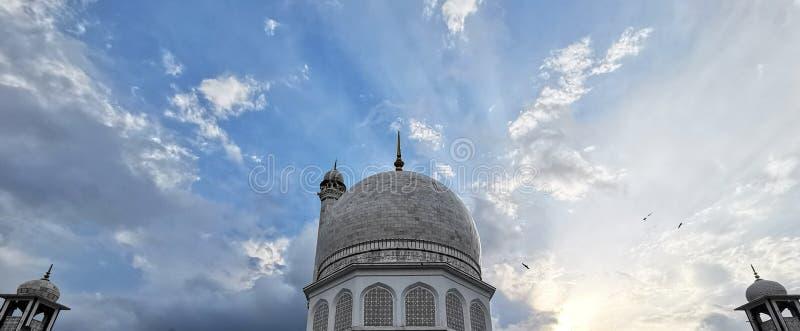 Мечеть на Индии Кашмире стоковые фото