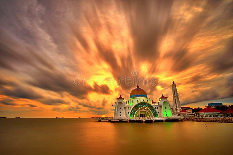 Мечеть проливов Малаккы стоковые фото