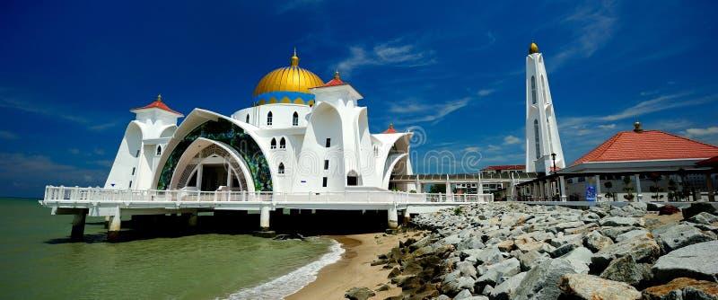 Мечеть проливов Малаккы стоковые изображения