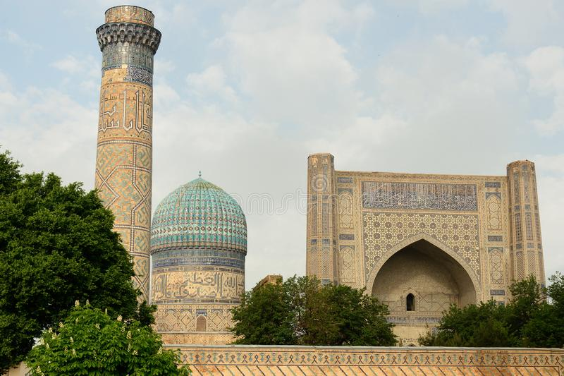 Мечеть Самарканд Bibi-Khanym, Узбекистан стоковая фотография