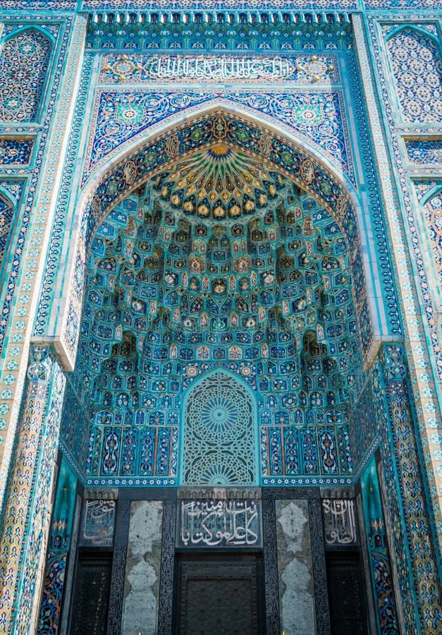 Мечеть Санкт-Петербурга, самая большая мечеть в Европе, в Санкт-Петербурге, Россия стоковое изображение
