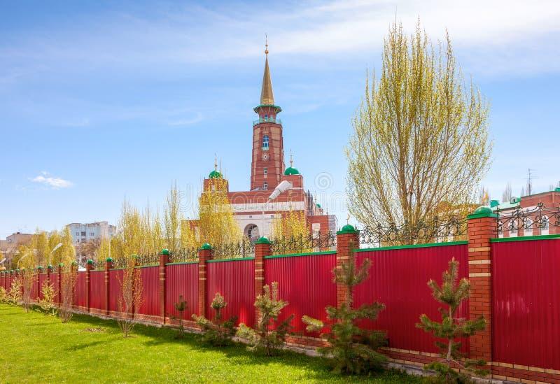 Download Мечеть собора самары стоковое изображение. изображение насчитывающей исламско - 40582009