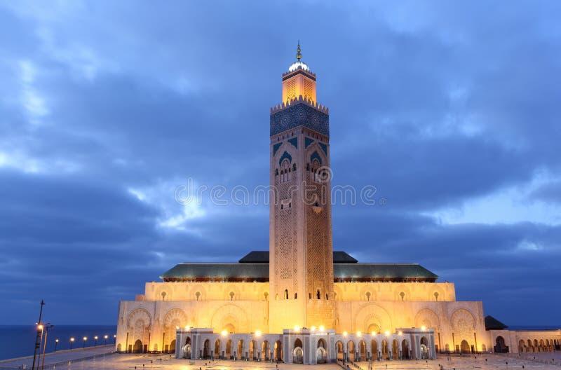 Мечеть Хасан II в Касабланке стоковое фото