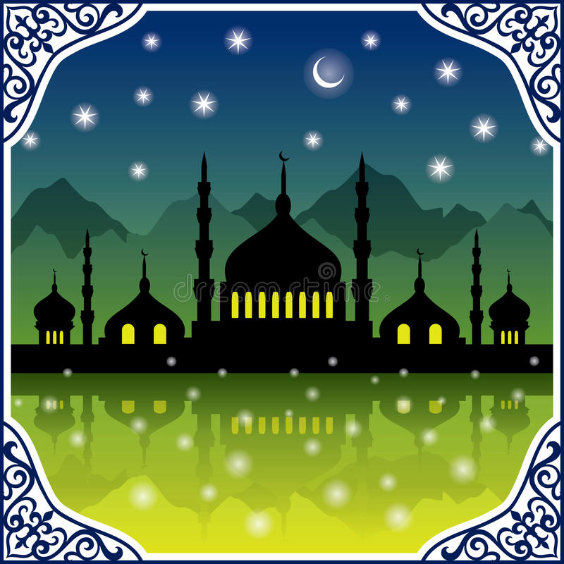 Мечеть стоковая фотография rf