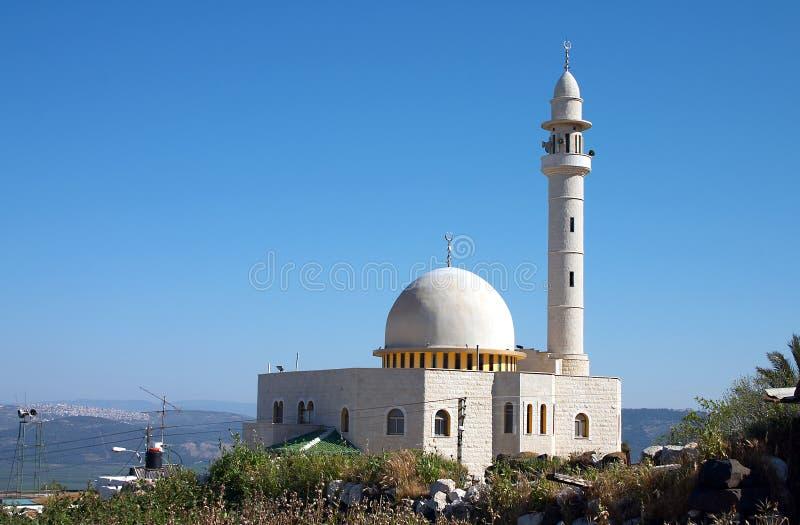 Download мечеть стоковое изображение. изображение насчитывающей минарет - 476827