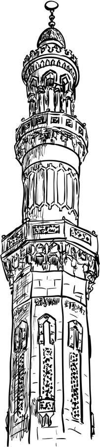 мечеть иллюстрация штока