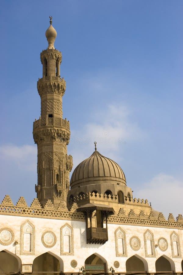 мечеть al azhar стоковые изображения rf