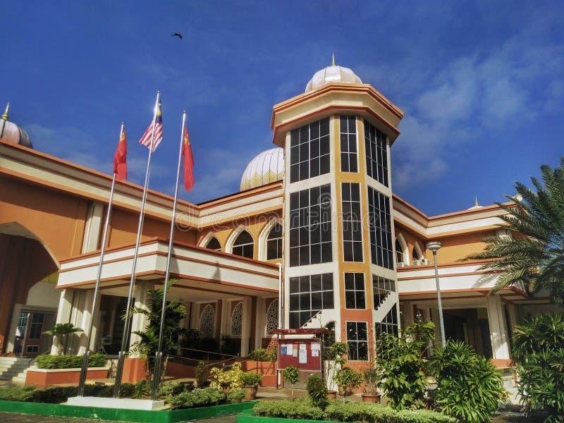 Мечеть al-Muttaqin в Jitra, Kedah, Малайзии стоковые фото