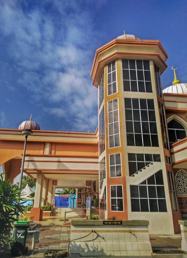 Мечеть al-Muttaqin в Jitra, Kedah, Малайзии стоковая фотография rf