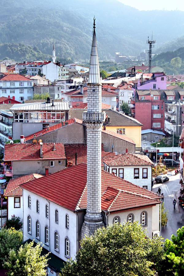 мечеть amasra стоковые фотографии rf