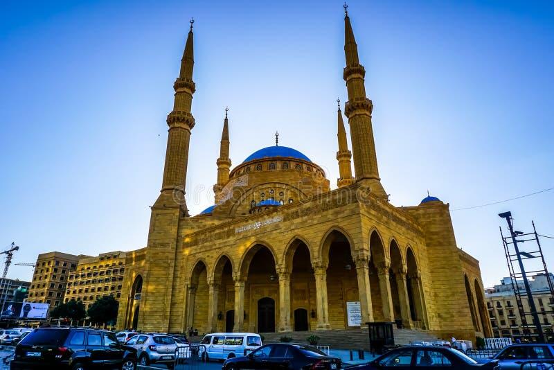 Мечеть 01 Amin Al Бейрута Mohammad стоковое фото rf