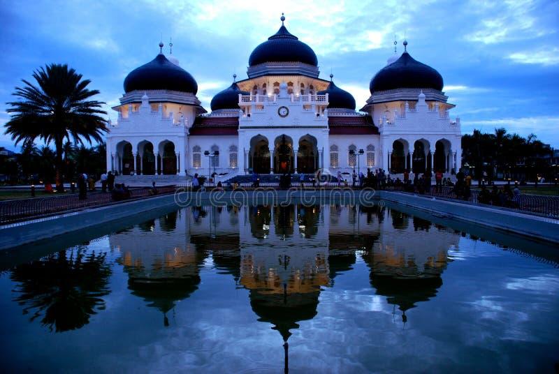 Мечеть Baiturrahman стоковая фотография rf