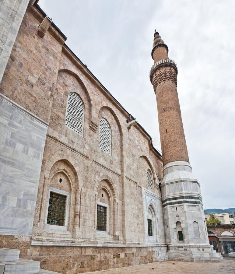 мечеть bursa грандиозная стоковые изображения