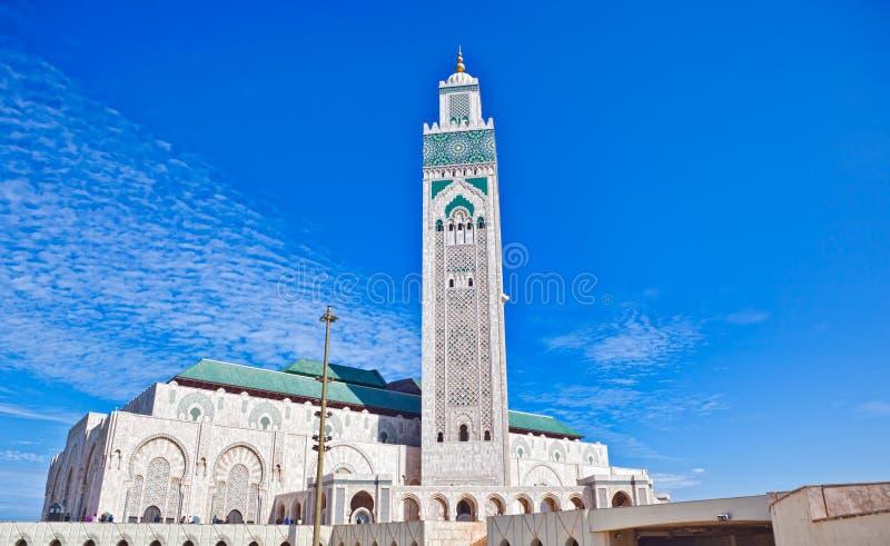 мечеть casablanca hassan ii стоковые изображения