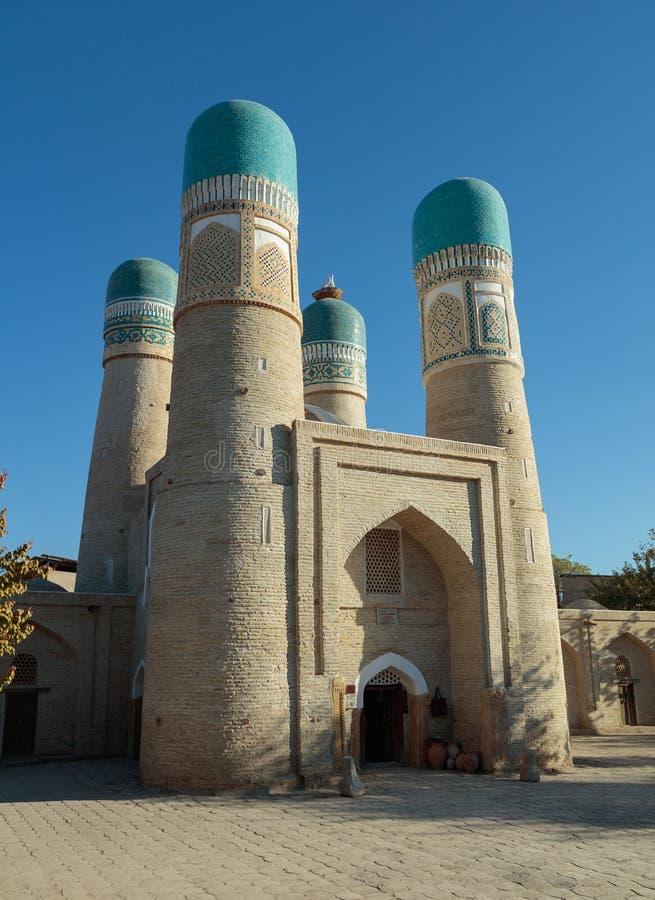 Мечеть Chor небольшая, Бухара, Узбекистан стоковое фото