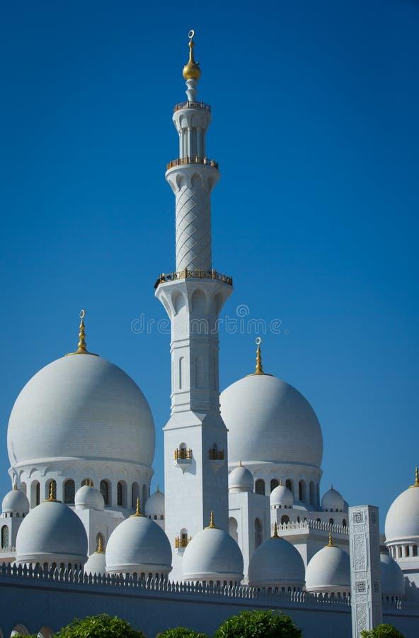 Мечеть dabi Abu стоковые фотографии rf