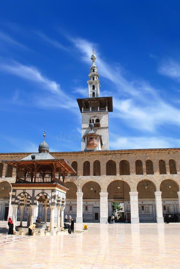 мечеть damascus стоковое фото rf